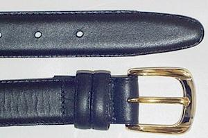 #295107. 54 . BLACK Retail $  35.00 Belts by MARK WOLF. OIL TAN LTHR KEEPER Whs:  1,