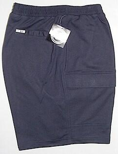 #174383. 6XL BIG. NAVY Retail $  48.00 Fleece Shorts by LD SPORT. FR TERRY CARGO SHORT Whs:  1,FW:  1,
