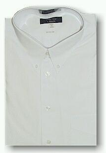 #275282. 17.0 BIG. WHITE ASSORTED BRANDS/STYLE Short Sleeve Dress Shirts by BIG TALL DIRECT. FW:  1