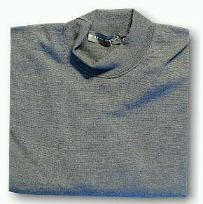 #209636. XL BIG. GREY Retail $  90.00 Sweaters by TUNDRA. MERINO MOCK NECK PO Whs:  1,