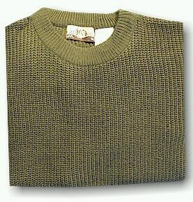 #087863. XL BIG. OLIVE Retail $  39.00 Sweaters by WOOD LAND TRAIL. ACRYLIC SHAKER CREW Whs:  4,