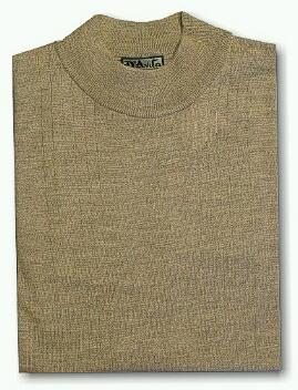 #155027. 4XL TALL. TAUPE Retail $  69.00 Sweaters by D'AVILA. MERINO WOOL MOCK Whs A:  2 FW:  1