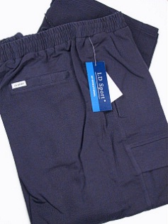#068752. 4XL BIG. NAVY Retail $  55.00 French Fleece Pants by LD SPORT. FR TERRY CARGO PANT Whs A:  2 FW:  1