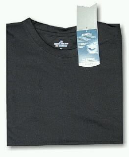 #131034. 5XL BIG. BLACK Retail $  33.00 Dri Power Crew by RUSSELL. DRI-POWER CREW TEE Whs A: 12
