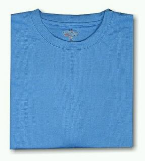 #330093. 4XL BIG. BLUE Retail $  33.00 Dri Power Crew by RUSSELL. DRI-POWER CREW TEE Whs A:  2