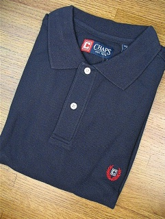 #018731. XL TALL. NAVY Retail $  47.50 Short Sleeve by CHAPS. SOLID PIQUE POLO FW:  1,