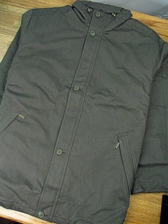 #180638. 2XL TALL. DK CLOVE Retail $ 269.00 Outerwear by CUTTER BUCK. INSULATED CITY COAT Whs A:  1
