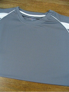 #166164. 2XL TALL. GREY Retail $  34.00 Dri Power Crew by RUSSELL. 2-TONE DRI POWER CREW Whs A:  4