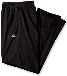 #045304. XL TALL. BLACK Retail $  38.00 Dri-Power Pants by RUSSELL. DRI-POWER PANT Whs A: 86 FBA: 63