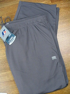 #249861. 6XL BIG. DK GREY Retail $  38.00 Dri-Power Pants by RUSSELL. DRI-POWER PANT Whs A: 21