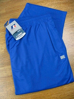 #034560. 2XL TALL. ROYAL Retail $  38.00 Dri-Power Pants by RUSSELL. DRI-POWER PANT Whs A: 28