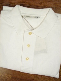 #257499. 3XL BIG. WHITE Retail $  49.00 Short Sleeve Luxury by CUTTER BUCK. TOURNAMENT POLO <font face=arial size=2><BR>Special Order Item.</font> <B>Item stocked by Manufacturer.  Allow up to 3 weeks for delivery.</B>