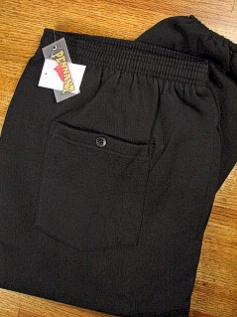 #071123. 3XL TALL. BLACK Retail $  39.00 Fleece Pants by WHITE MOUNTAIN. PENNANT FLEECE PANT Whs A:  4 FW:  1