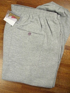 #071305. 2XL BIG. GREY Retail $  39.00 Fleece Pants by WHITE MOUNTAIN. PENNANT FLEECE PANT Whs A:  9 FW:  2