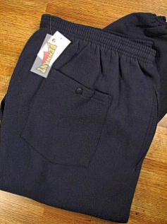 #303446. 2XL TALL. NAVY Retail $  39.00 Fleece Pants by WHITE MOUNTAIN. PENNANT FLEECE PANT Whs A: 36 FW:  1