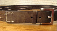 #039792. 50 . BROWN Retail $  40.00 Belts by OUTFITTER. FASHION JEAN BELT Whs A:  1 FW:  2