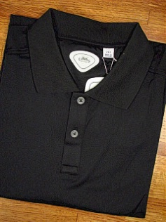 #056940. XL TALL. BLACK Retail $  74.00 Short Sleeve by CALLAWAY GOLF. DRYSPORT POLO Whs A:  1