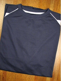 #246572. 2XL BIG. NAVY Retail $  34.00 Dri Power Crew by RUSSELL. 2-TONE DRI-POWER CREW Whs A:  3
