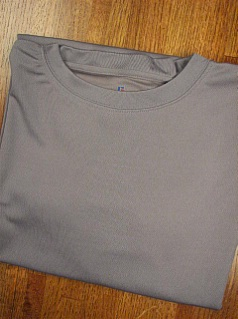 #190800. 2XL TALL. GREY Retail $  33.00 Dri Power Crew by RUSSELL. DRI-POWER CREW TEE Whs:  8,