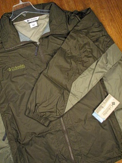 #113368. 2XL BIG. BREEN Retail $  50.00 Outerwear by COLUMBIA SPORTSWEAR. COUGAR PEAKS JACKET Whs:  1,