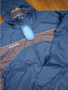 #206055. 2XL BIG. CARBON Retail $  65.00 Outerwear by COLUMBIA SPORTSWEAR. BLACKROCK JACKET Whs:  4,