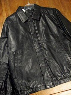 #016076. XL TALL. BLACK Retail $ 499.00 Outerwear by CLAIBORNE. NEW ZEALAND ZIP-OUT Whs A:  1
