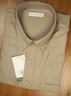 #230760. 5XL BIG. ROPE Retail $  79.50 Long Sleeve Cotton by CUTTER BUCK. NAILHEAD SOLID Whs A:  2