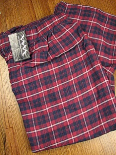 #090445. 2XL BIG. RED Retail $  24.00 Flannel Loungepants by WHITE MOUNTAIN. FLANNEL LOUNGE PANT Whs A: 26