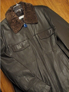 #244536. XL TALL. MOCHA Retail $ 449.00 Outerwear by JOSEPH ABBOUD. NEW ZEALAND ZIP FRONT Whs:  1,