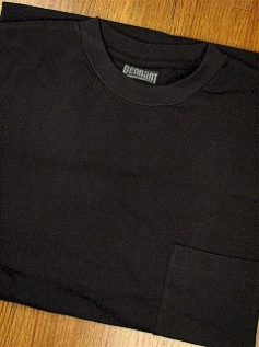 #008439. 6XL BIG. BLACK PREMIUM POCKET TEE Short Sleeve Tee by PENNANT SPORT. Whs A: 29 FW:  1