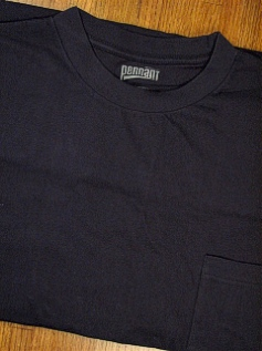 #229544. 5XL TALL. NAVY PREMIUM POCKET TEE Short Sleeve Tee by PENNANT SPORT. Whs: 48,FW:  3,