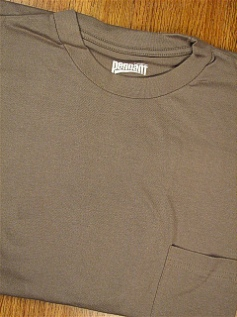 #293154. 4XL BIG. SAGE PREMIUM POCKET TEE Short Sleeve Tee by PENNANT SPORT. Whs A:  2
