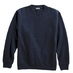 #309347. 5XL BIG. NAVY Retail $  38.00 Athletic Crew by WHITE MOUNTAIN. PENNANT FLEECE CREW Whs:  2,FW:  1,