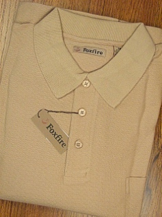 #258285. 5XL BIG. KHAKI Retail $  46.00 Long Sleeve by FOXFIRE. HERRINGBONE Whs A:  3