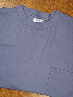 #334398. XL TALL. BLUE PREMIUM POCKET TEE Short Sleeve Tee by PENNANT SPORT. Whs A: 10 FW:  1