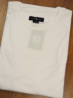 #079666. 2XL TALL. WHITE Retail $  25.00 Long Sleeve Tee by CTTON TRADERS. POCKET TEE LONGSLV Whs A:  2