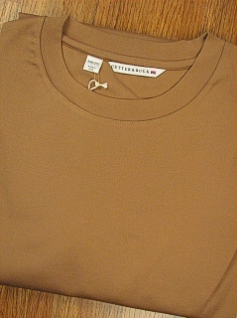 #015488. 4XL TALL. TAUPE Retail $  74.00 Long Sleeve by CUTTER BUCK. DISTRICT CREWNECK Whs A:  2