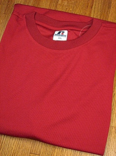 #149600. 2XL BIG. MAROON Retail $  33.00 Dri Power Crew by RUSSELL. DRI-POWER CREW TEE FW:  1