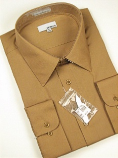 Modena Broadcloth Big Mans Dress Shirt