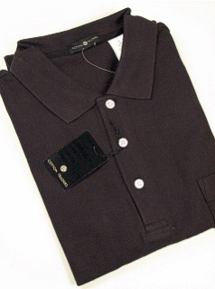 #031291. 3XL TALL. BLACK Retail $  34.00 Short Sleeve Pocket by CTTON TRADERS. SOLID POCKET PIQUE Whs A:  2