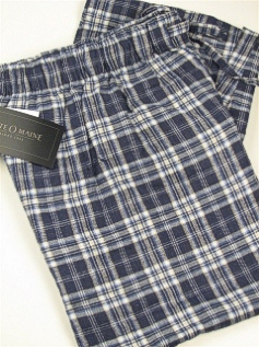 #130310. 2XL TALL. BLUE Retail $  29.00 Flannel Loungepants by STATE-O-MAINE. FLANNEL PLAID Whs:  2,