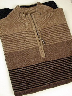 #062479. XL TALL. OLIVE Retail $  69.00 Sweaters by CELLINI. HORIZONTAL STRIPE Whs A:  1