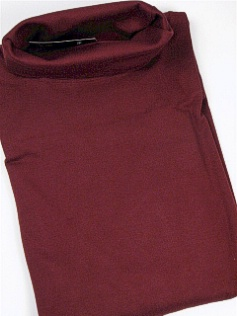 #156019. 2XL TALL. BURGUNDY Retail $  32.50 Long Sleeve by CTTON TRADERS. INTERLK TURTLE SOLID Whs A:  2
