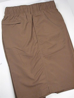 #303862. 5XL BIG. TAUPE Retail $  46.00 Swim Wear by CTTON TRADERS. MICROFIBER TRUNK Whs A:  3 FW:  1