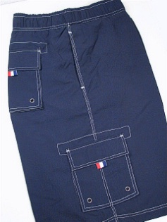 #029559. 5XL BIG. NAVY Retail $  48.00 Swim Wear by CTTON TRADERS. CARGO TRUNK FW:  1