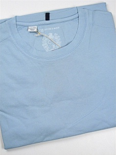 #314167. 4XL BIG. BLUE Retail $  59.00 Short Slv No Pocket by CUTTER BUCK. LAID BACK WEEKEND TEE FW:  1