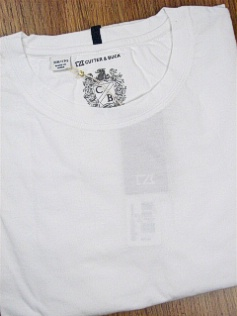 #299213. XL TALL. WHITE Retail $  59.00 Short Slv No Pocket by CUTTER BUCK. LAID BACK WEEKEND TEE Whs:  1,