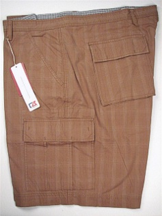 #285667. 54 . TAUPE Retail $ 120.00 Shorts by CUTTER BUCK. INTERURBAN CARGO Whs:  2,