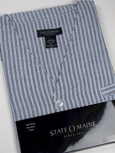 #207810. 4XL BIG. CHARCOAL Retail $  34.00 Pajamas by STATE-O-MAINE. SHORT SLV KNEE LENGTH Whs A:  4