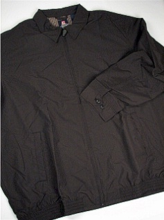 #243678. 2XL TALL. ANTRACIT Retail $  95.50 Outerwear by CHAPS. MICROFIBER BARACUTA FW:  1,